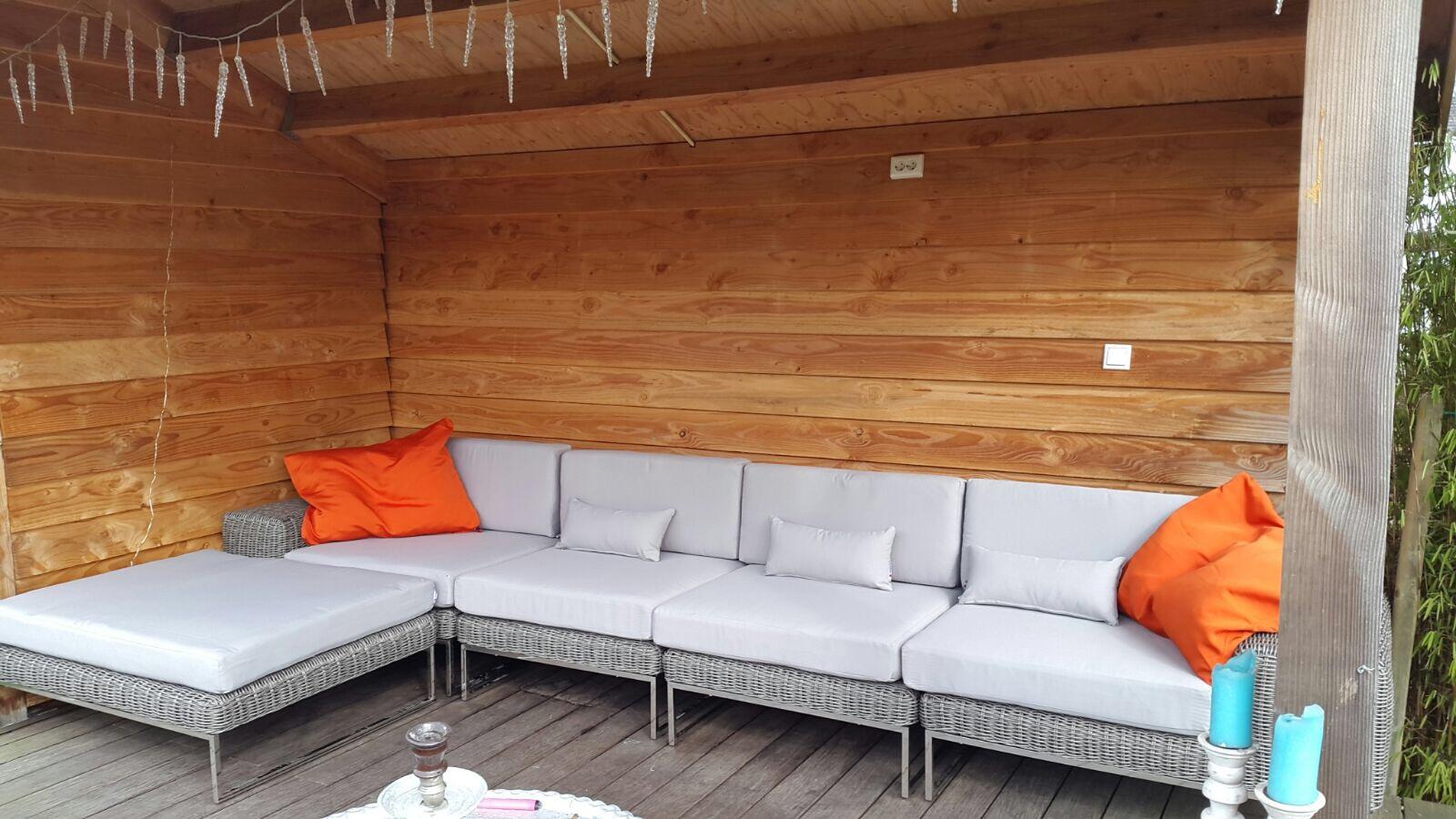 Arbrini design tuinmeubelen maart 2017 - Bank terras hout ...