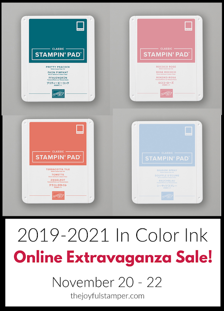 2019-2021 In Color ink pads - Online Extravaganza Sale
