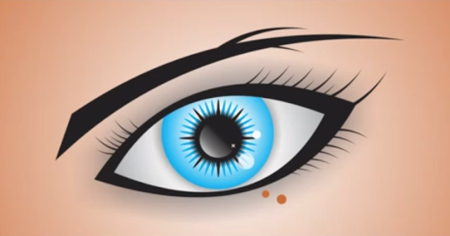 How to Draw VECTOR EYE in CorelDraw X7