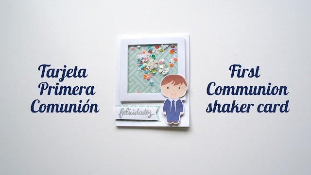 tarjeta primera comunión