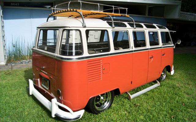 Vw Bus 23 Window Deluxe 1963 Vw Bus