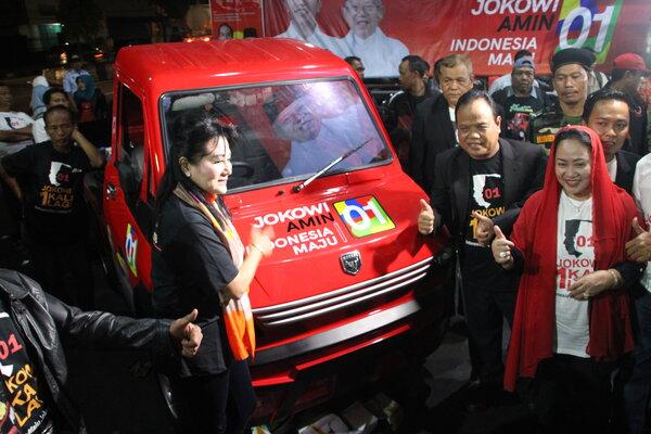 Bengkel Perakitan Mobil Esemka Jadi Posko Pemenangan Jokowi-Ma'ruf Amin