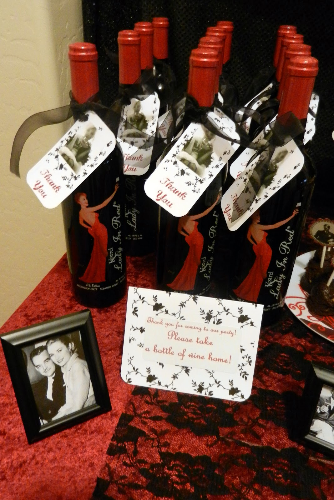"""Old Hollywood Glam"" party - Lasting Impressions/TMClark ... 