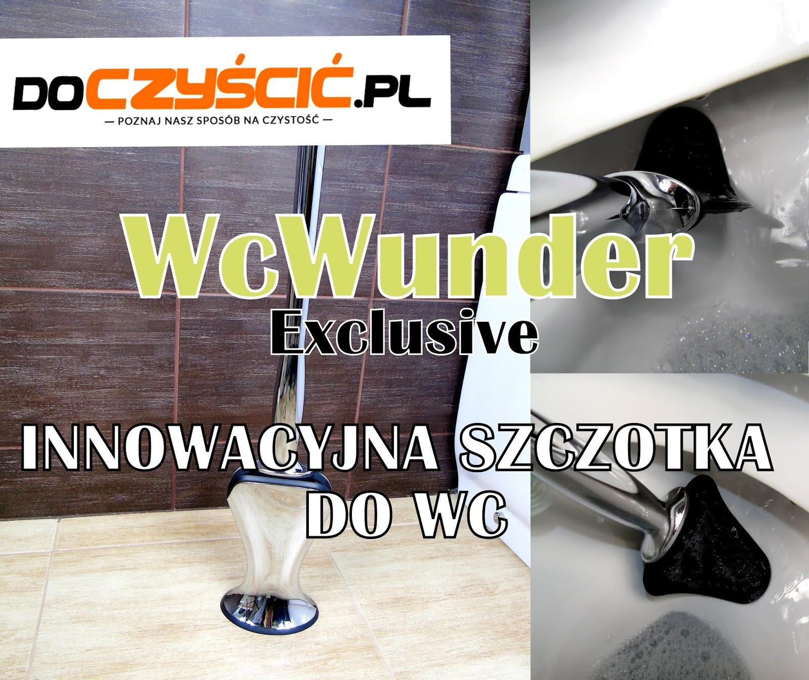 WcWunder - Innowacyjna szczotka do mycia toalety, oraz jej skuteczni pomocnicy!