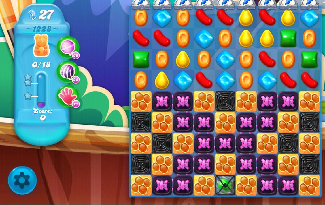 Candy Crush Soda Saga level 1228