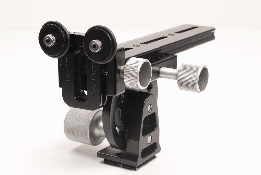 "Hejnar photo 2"" modular Long Lens Support Bracket with F012 clamp on G13-80 rail"