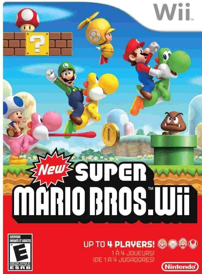 [NTSC] New Super Mario Bros Wii