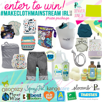 $500+ Prego Expo Denver Cloth Diaper Giveaway