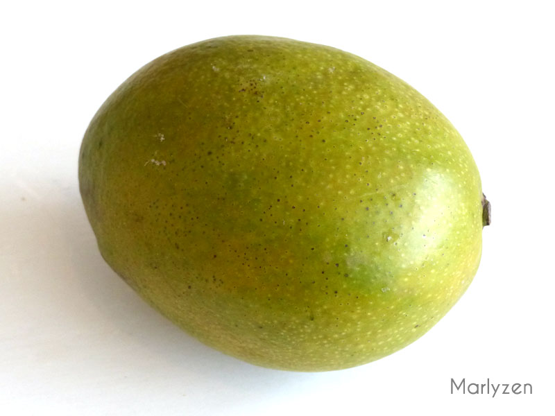 Épluchez la mangue