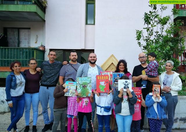 Inaugurada la segunda 'Little Library' de la capital en el Barrio de Benahoare