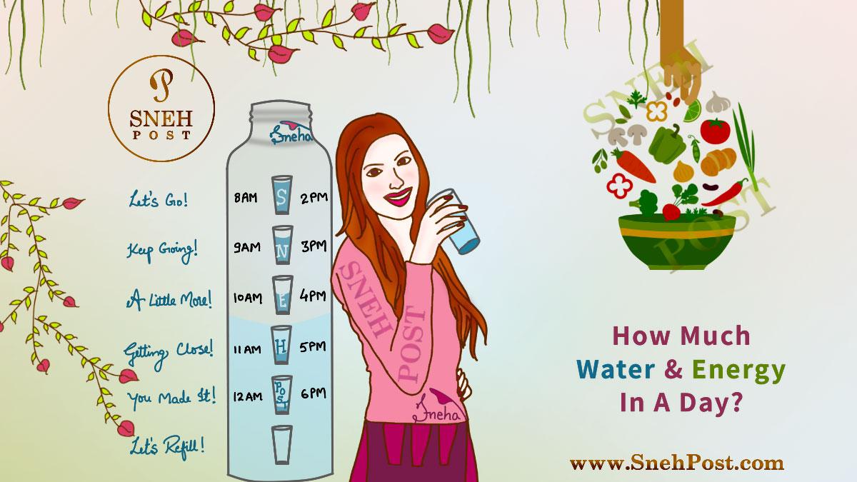 BMR, energy, water need calculator
