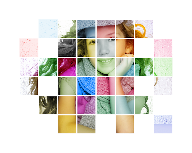 Color Grids Photoshop Tutorials Photo Effects for Beginners Step By Step