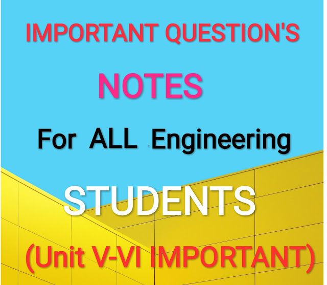 UNIT V: Wave mechanics Important Questions For semester end exam
