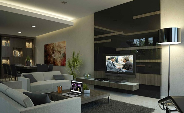 Inspiring Living Room Decoration With Black Paint Closet Design And Unique Living Room Furniture