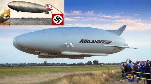 80+ Χρονιά χρειάστηκαν για αντιγράψουν τους ναζι !Airlander-10:  [Βίντεο]
