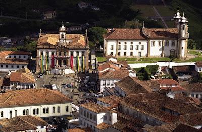 Venha visitar Ouro Preto em Minas Gerais centro istorico