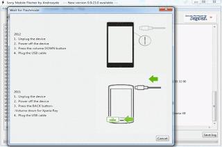 Flashing Sony Xperia C3 Single (D2533) Bootlop