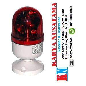 Jual Hanyoung Nux HY-TR-24-R 24 V DC Red Turn Light di Makasar