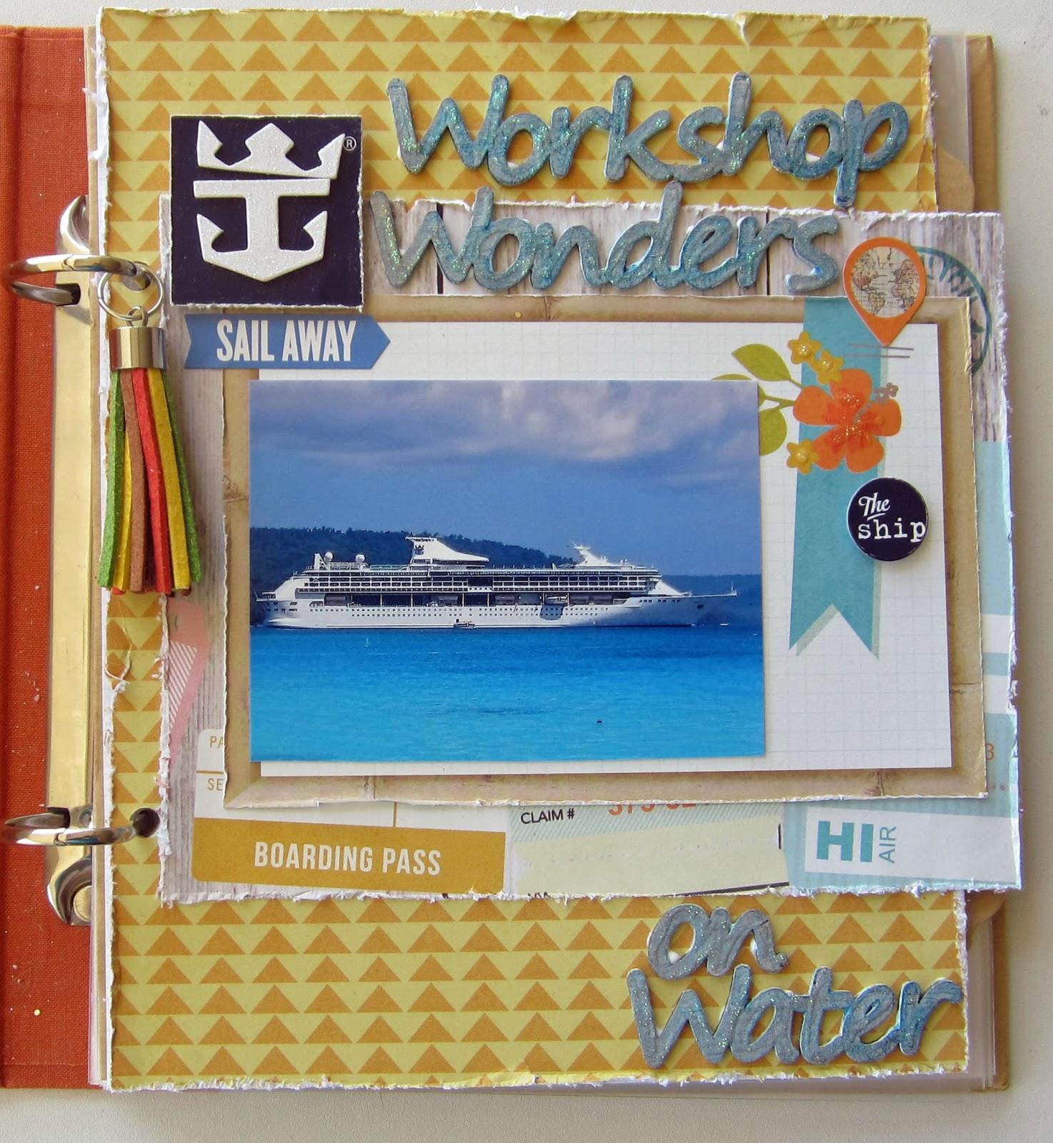 Norwegian Cruise Scrapbook Kit