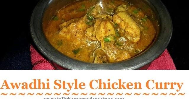 Murg musallam recipe awadhi style chicken curry recipe for Awadhi cuisine vegetarian