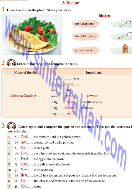 8. Sınıf Tutku Yayınları İngilizce Ders Kitabı Cevapları Sayfa 34