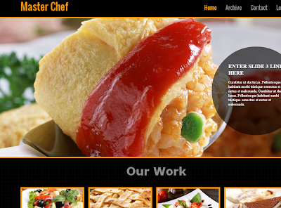 Master-Chef Blogger Template