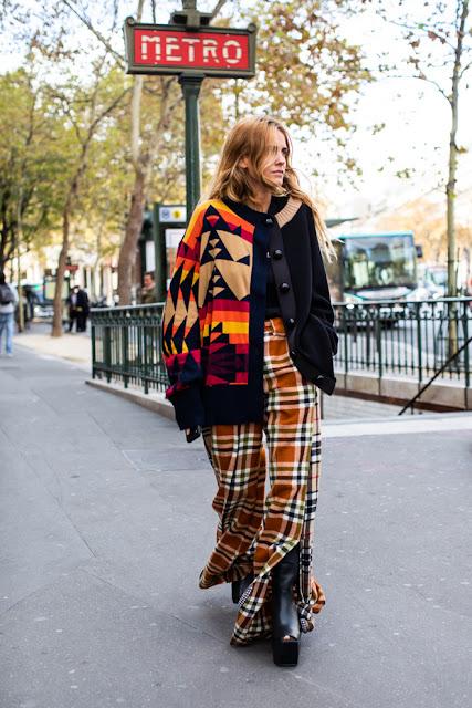 Street style at Paris Fashion Week Spring-Summer 2019
