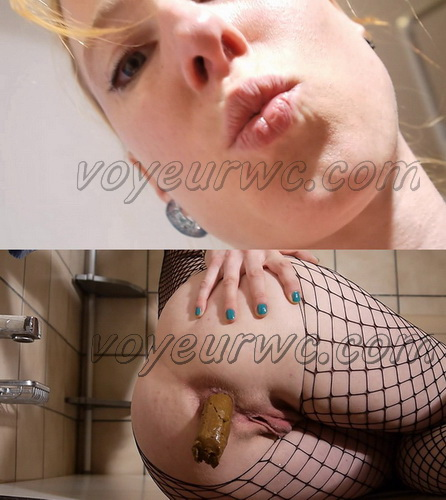 Pooping girls big compilation. Enema and pooping liquid scat in the bathroom. (Pooping FE 46-54)