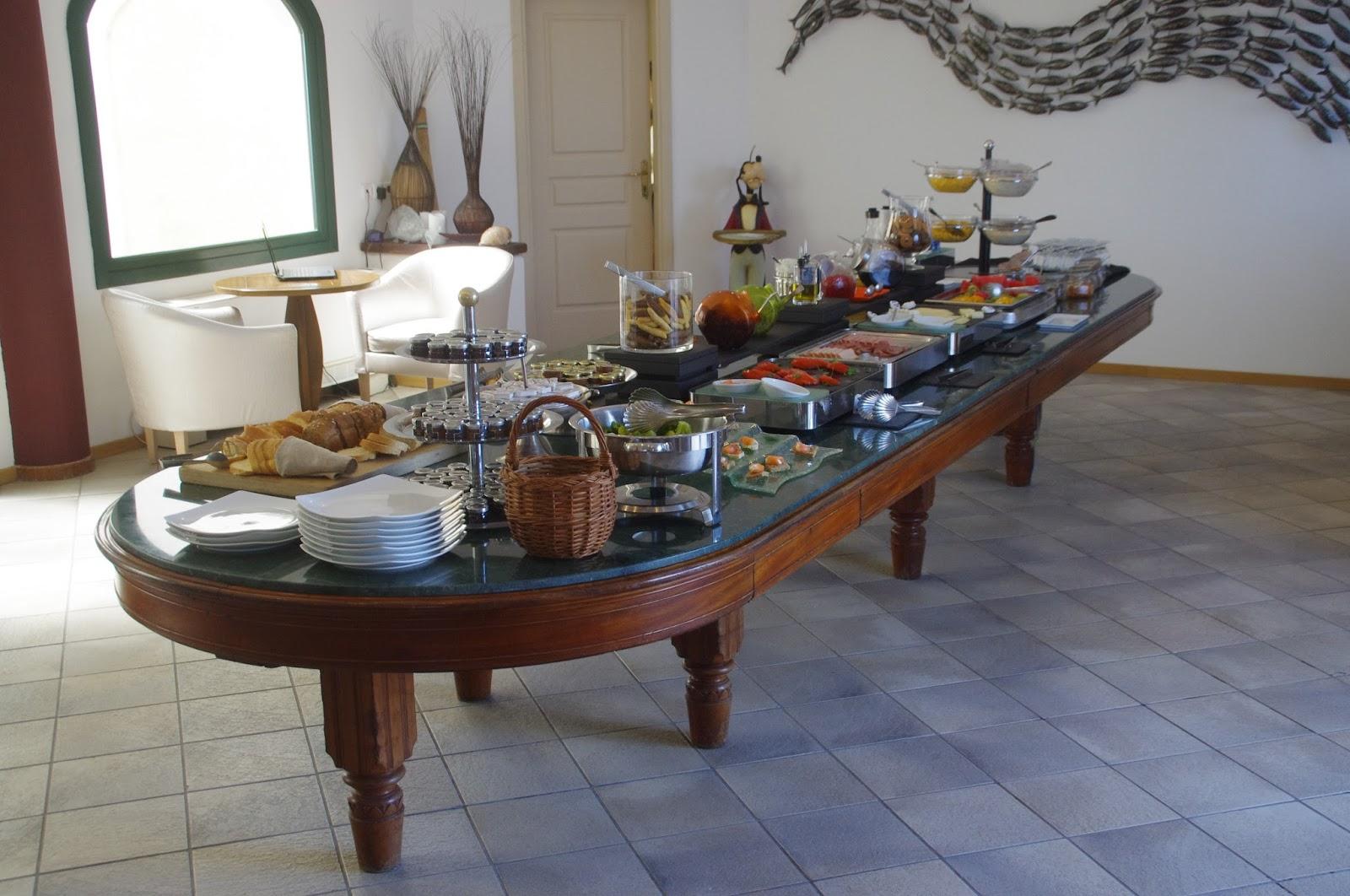 Tharroe of Mykonos Breakfast Buffet