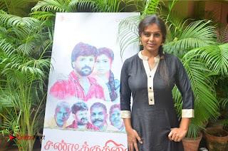 Actress Latha Rao Pictures at Sandi Kuthirai Movie Interview 0009