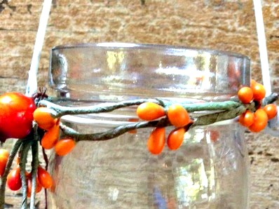 Easy to Make Fall Tea Light Candles