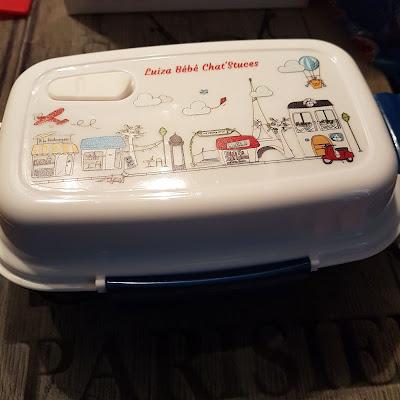 Trop belle ma lunch box
