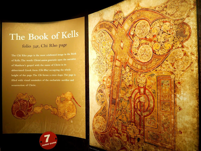 Book of Kells exhibition, Dublin, Ireland