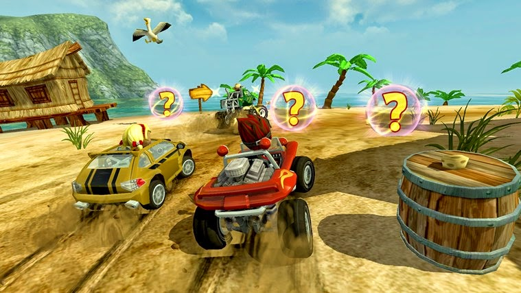 Beach Buggy Racing for Windows Phone and Windows