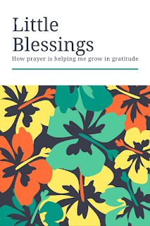 Little blessings: How prayer is helping me grow in gratitude