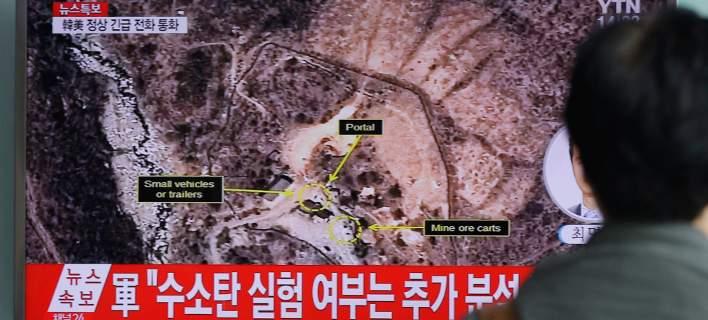 Κατέρρευσε το κέντρο πυρηνικών δοκιμών της Βόρειας Κορέας