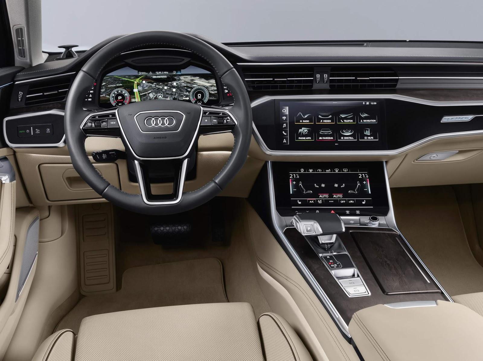 Novo Audi A6 2019 Fotos Preco E Especificacoes Oficiais Car Blog Br