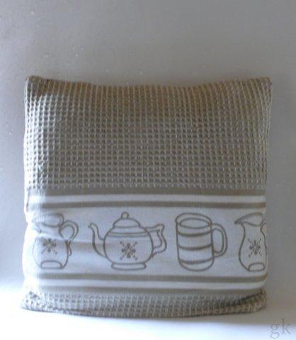 gk kreativ kissenbezug mit hotelverschluss. Black Bedroom Furniture Sets. Home Design Ideas