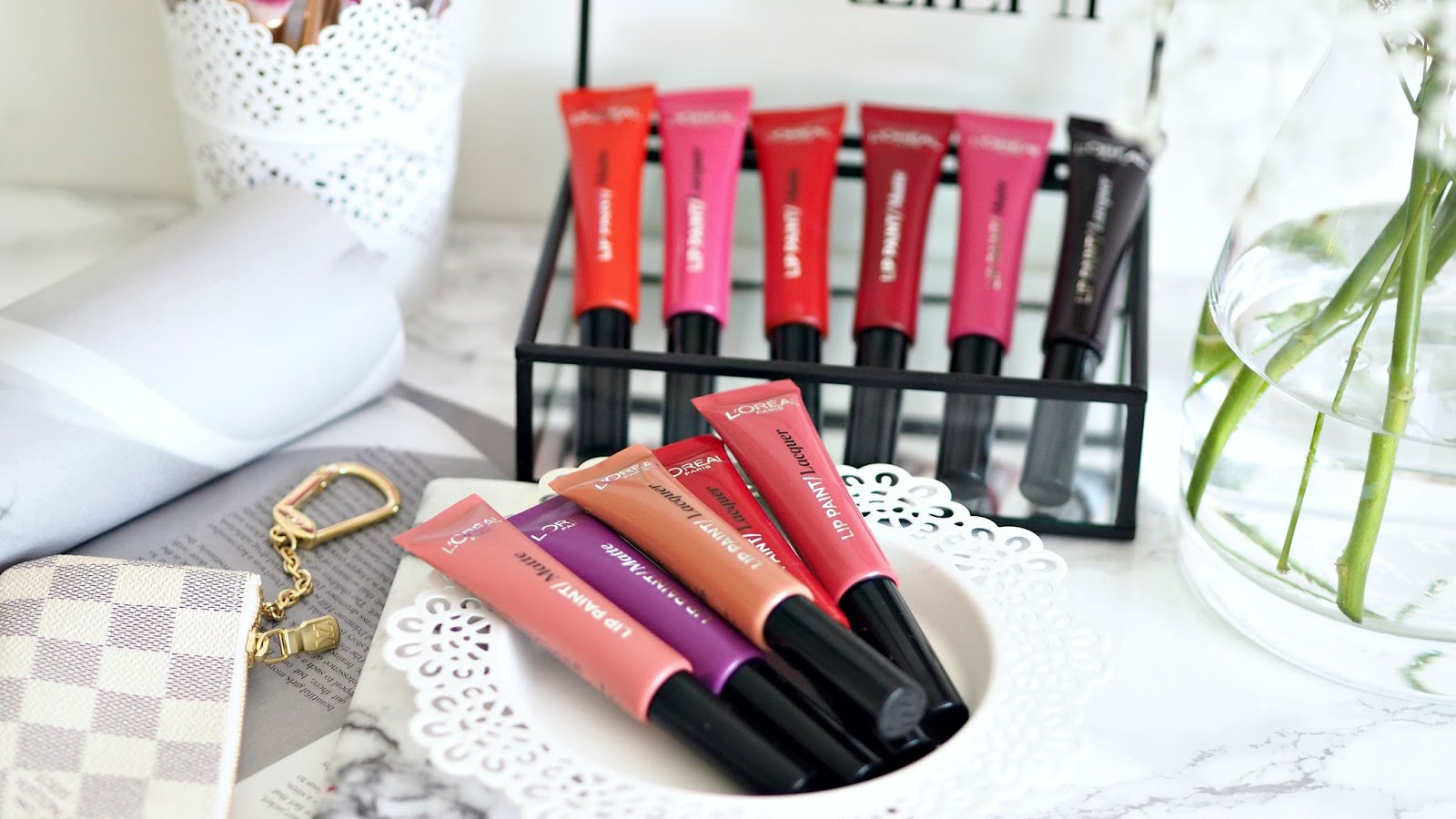 L'Oreal's Infallible Lip Paints review