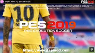 FTS 19 Mod PES 2019 Apk Data Obb