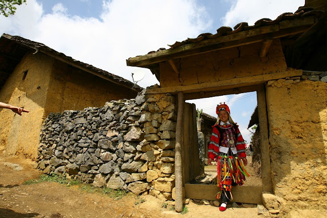 Coming to Ha Giang to visit Lo Lo tribe 3