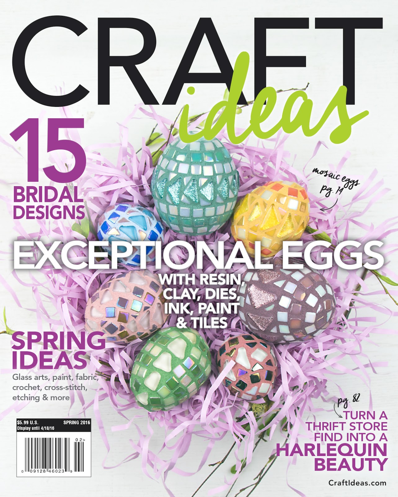 Kbb Crafts Stitches See My Designs In Spring Issue Of Craft Ideas