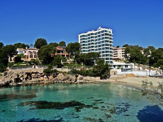 Portal Nous zatoka okolice Palmy de Mallorca