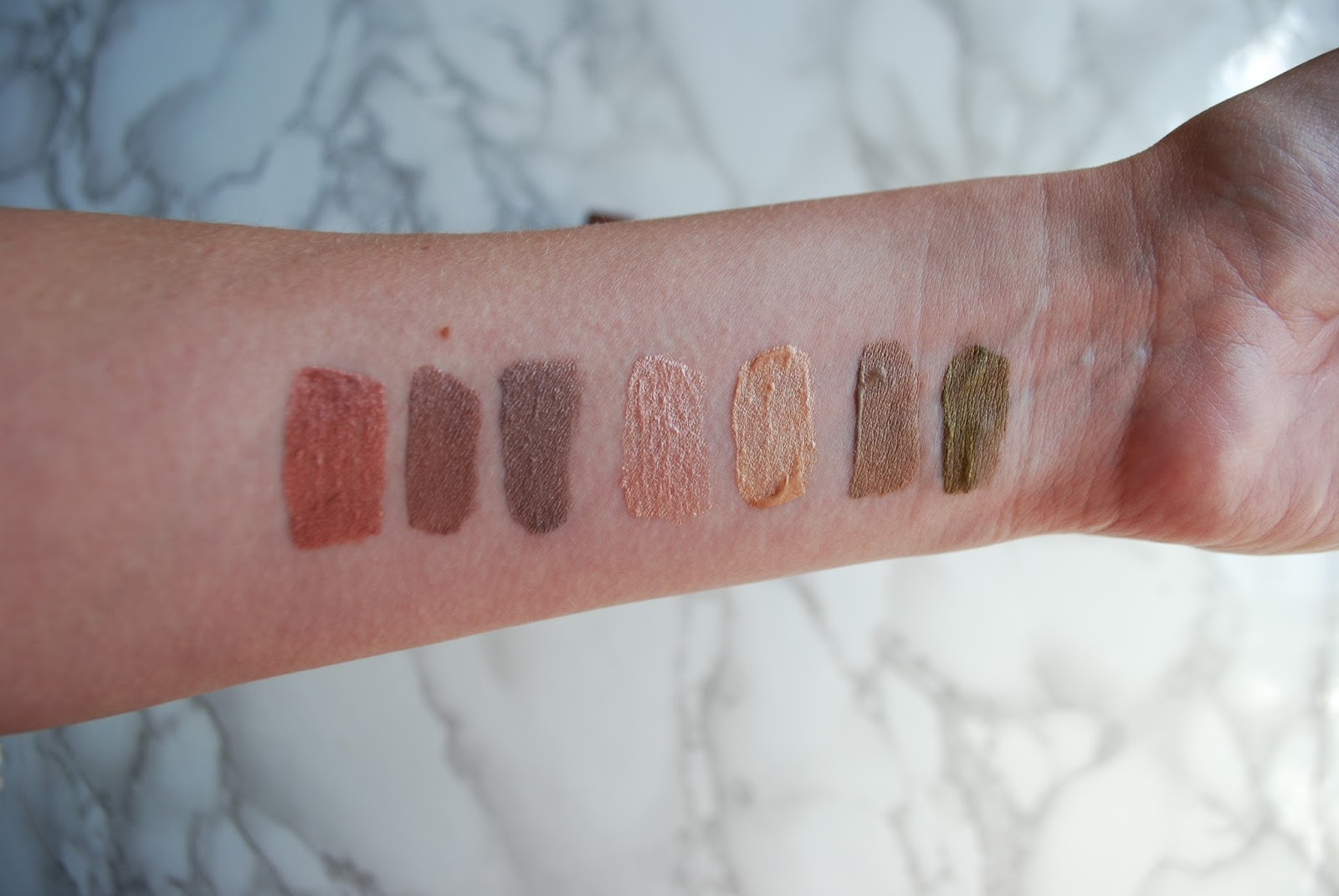 drugstore glossier lidstar dupe: bourjois satin edition liquid eyeshadows swatches