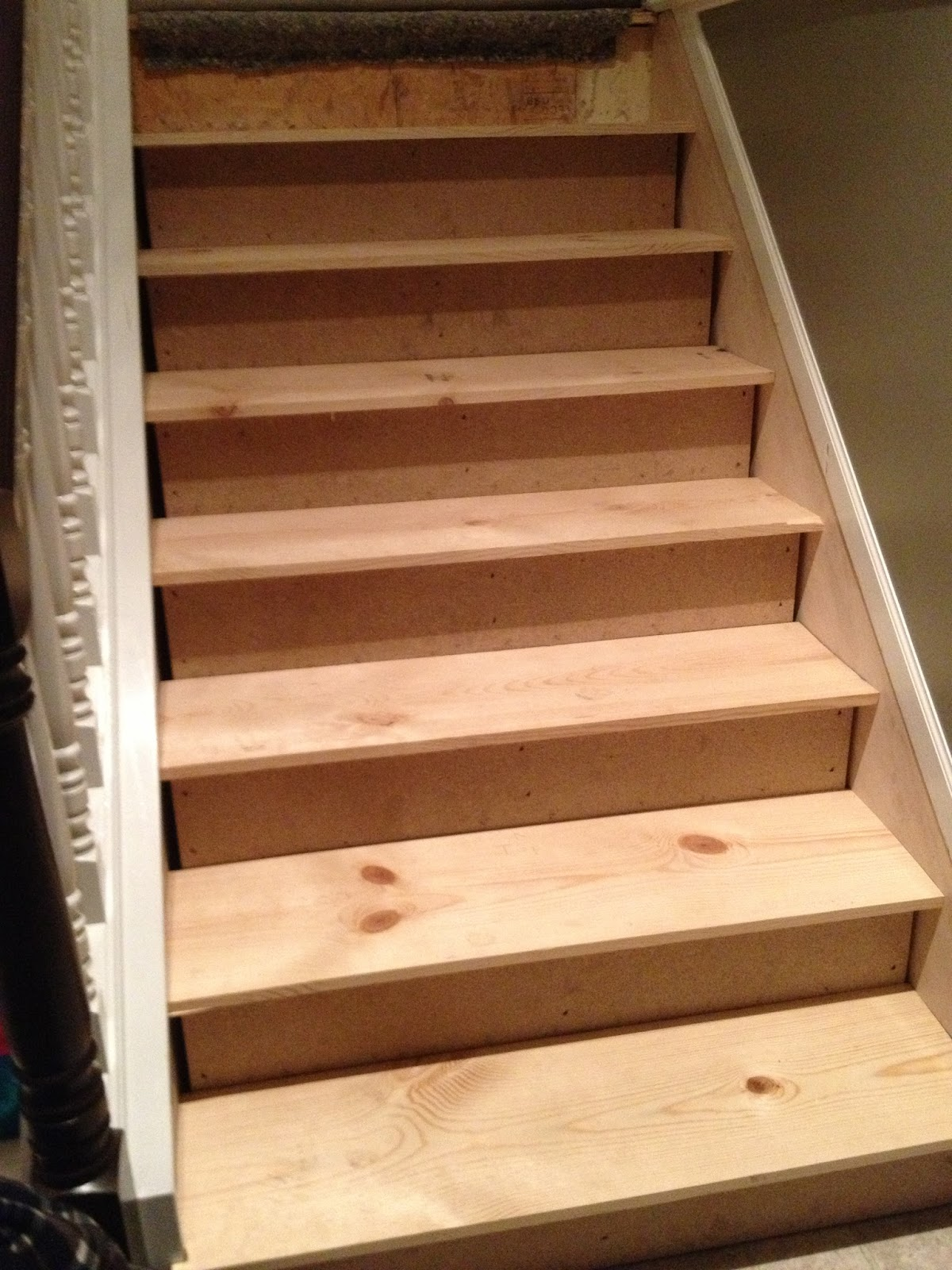 The Serene Swede From Carpet To Hardwood Stairs | Carpet On Hardwood Stairs
