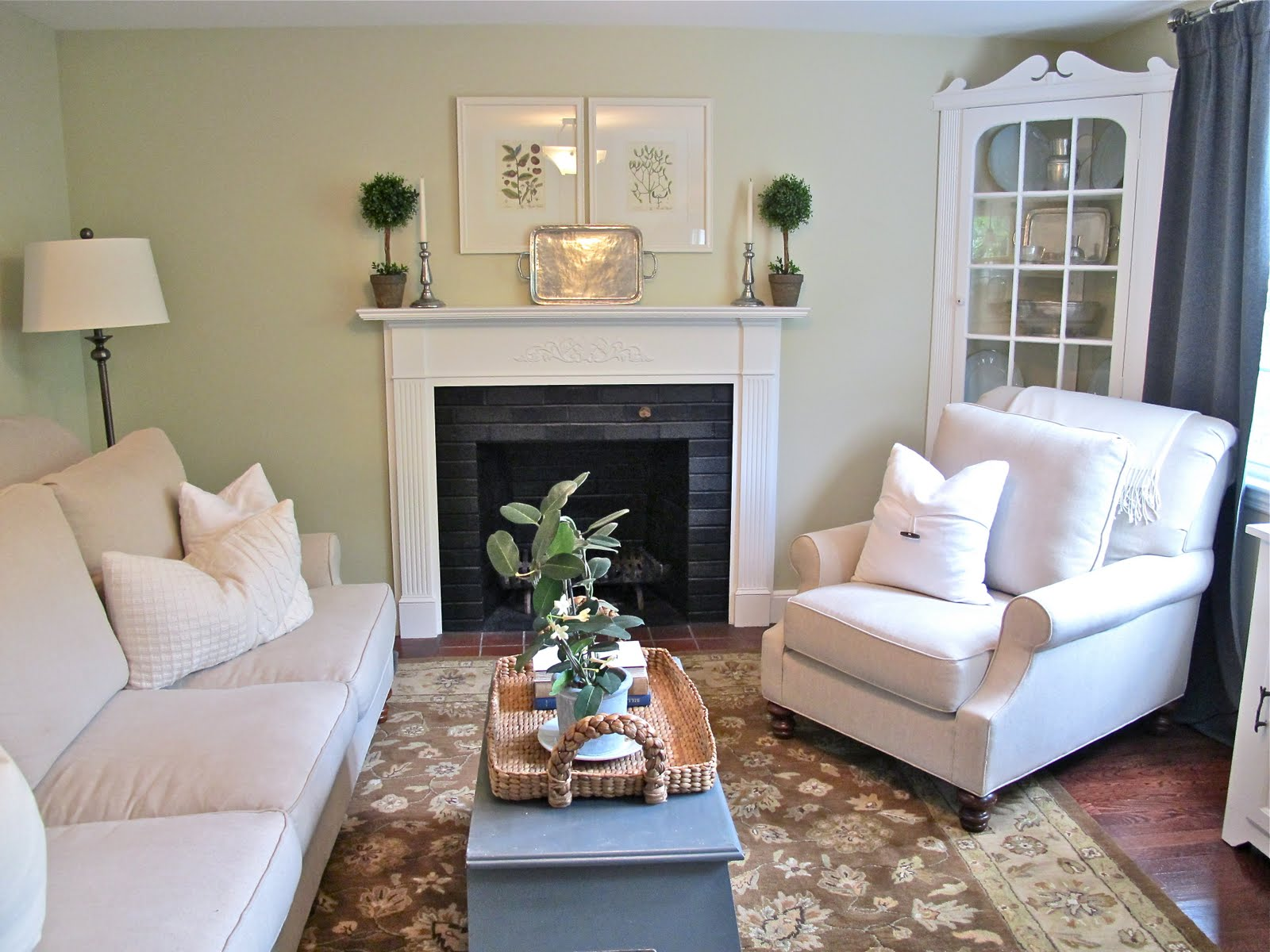 can i spray paint my leather sofa l shaped living room jenny steffens hobick: in the new house | our ...