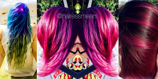 Gorgeous hairstyles and colors by Hairess Nikki Mears, Guam, USA!