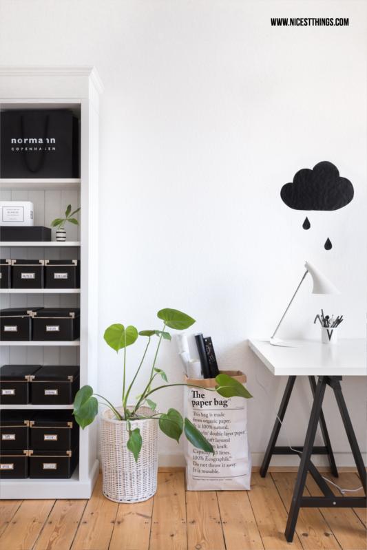 Tipps für ein schönes Zuhause Arbeitszimmer #homeoffice #arbeitszimmer #schreibtisch #blogger #interior #skandi