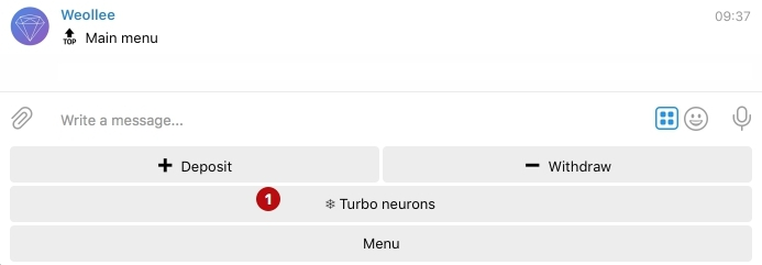 Турбо нейроны Weollee