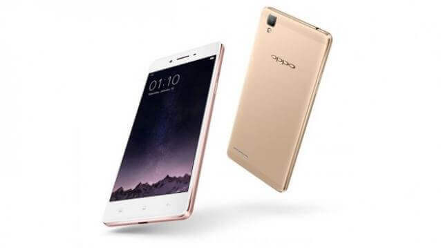 Oppo F1s the selfies centric phone